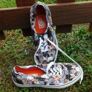 Vans ASPCA Cat Kittens Shoes Size 10